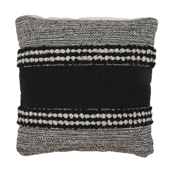 """Warm up your home with [textured decorative items](https://www.homestolove.com.au/how-to-add-texture-to-your-home-7046 target=""""_blank"""") like this stylish [Nala cushion, $12](https://www.kmart.com.au/product/nala-cushion/2326305  target=""""_blank"""" rel=""""nofollow"""")."""