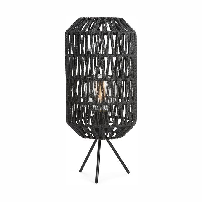 "Add texture and ambience to your home with this [Braided Table Lamp, $29](https://www.kmart.com.au/product/braided-table-lamp/2382837 |target=""_blank""