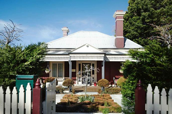 The 1889 home was built by the former Mayor of Balmain, Solomon Herbert Hyam.