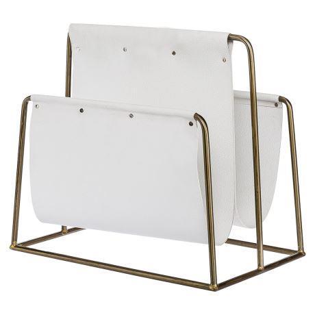 "GRIMAUD magazine holder in Gold, $99, [Freedom](https://www.freedom.com.au/storage/organisation/all-organisation/24124997/grimaud-magazine-holder-gold-colour?reflist=Recently%20Viewed|target=""_blank""|rel=""nofollow"")."