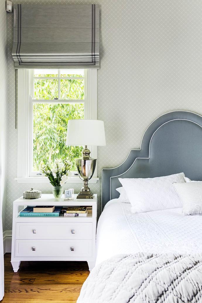 """Tonal fabrics and textures create a [tranquil feel](https://www.homestolove.com.au/classic-queenslander-updated-for-family-living-2577