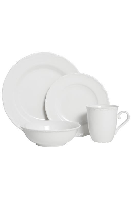 "**CLASSIC**<p> <P>The Casa Domani 'Casual White Florence' 16-piece **dinner set** features classic scalloped edges, and delicate filigree patterns. It is elegant, yet understated and perfect for any occasion.<P> <P>'Casual white florence' 12-piece dinner set, $119.95, from [Harris Scarfe](https://fave.co/2WQ9Tpt|target=""_blank""