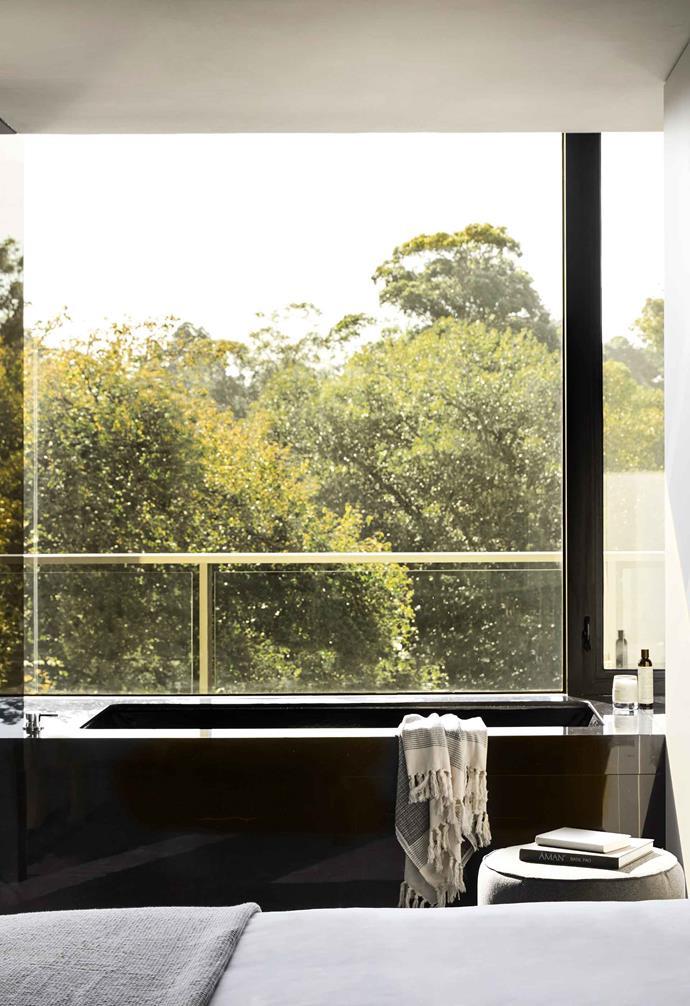 A Garden Penthouse suite overlooking the park.