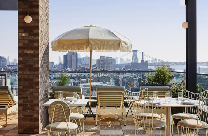 Head to the rooftop to enjoy seafood, cocktails and the view at Summerly.