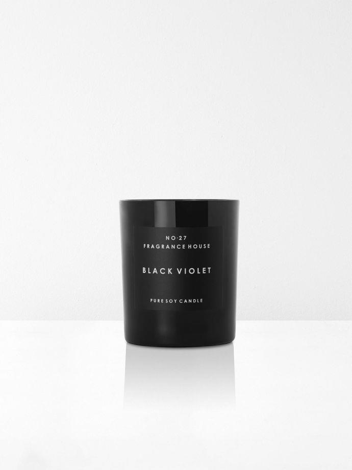 "Black Violet Scented Candle By No 27 Fragrance House, $37, [Aura Home](https://www.aurahome.com.au/black-violet-candle?gclid=CjwKEAjw__fnBRCNpvH8iqy4xl4SJAC4XERPgEC01pgg_wrZ24UIVvsb0jyfYaKuOwfCH_h1PdKS2BoCXCXw_wcB|target=""_blank""