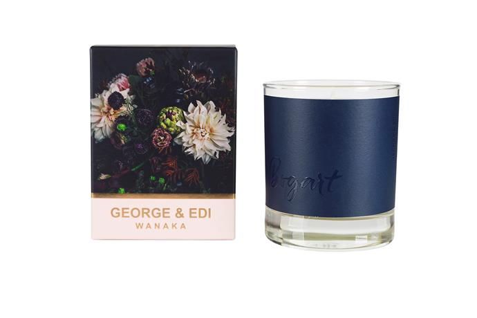 "'The Darker Side: Bogart' perfumed soy candle, from $29, [George & Edi Wanaka](https://www.georgeandedi.com/product/darker-side-bogart-perfumed-soy-candle/|target=""_blank""