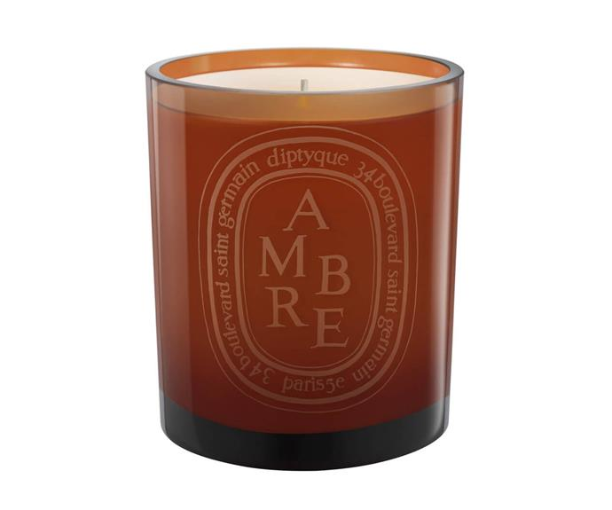 "Diptyque Orange Ambre Candle, $105, [Mecca](https://www.mecca.com.au/diptyque/orange-ambre-candle/I-019401.html|target=""_blank""