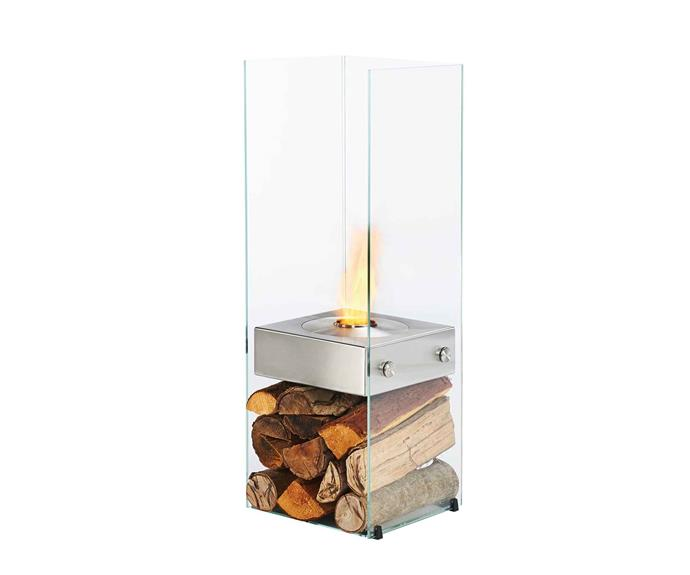 "Ghost ethanol fireplace, $2495 (supply only), [EcoSmart Fire](https://ecosmartfire.com.au/|target=""_blank""