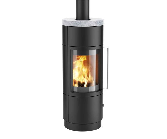 "Hase 'Sila' wood-burning fireplace, from $6990 (supply only), [Oblica](https://oblica.com.au/|target=""_blank""