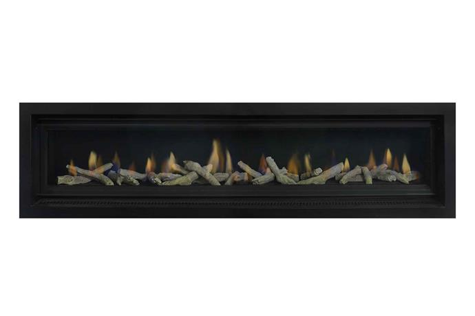 "Element 1800 high-efficiency gas fireplace, from $8499 (supply only), [Real Flame](http://realflame.com.au/|target=""_blank""