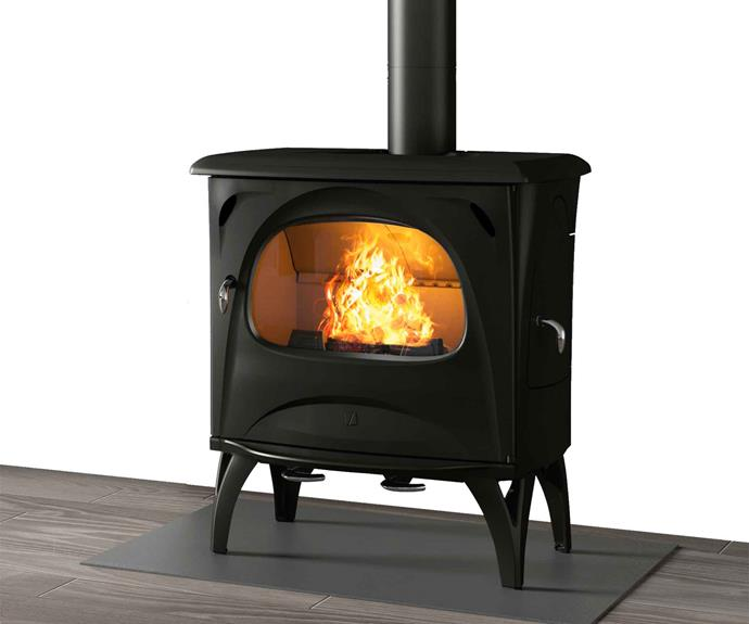 "Seguin 'Aurore' wood-burning cheminee fireplace, POA, [Sculpt Fireplaces](https://sculptfireplaces.com.au/|target=""_blank""