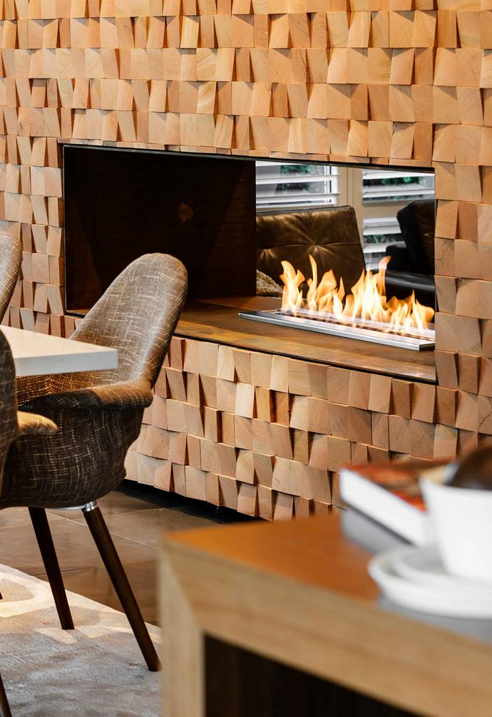 """This XL900 Series ethanol burner, $3495 (supply only) from [EcoSmart Fire](https://ecosmartfire.com.au/ target=""""_blank"""" rel=""""nofollow""""), fits comfortably into a wall recess."""