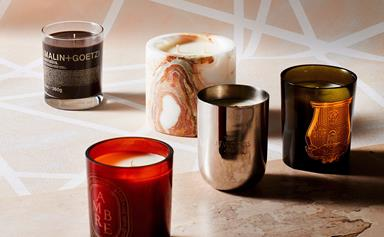 12 scented candles we're burning this winter