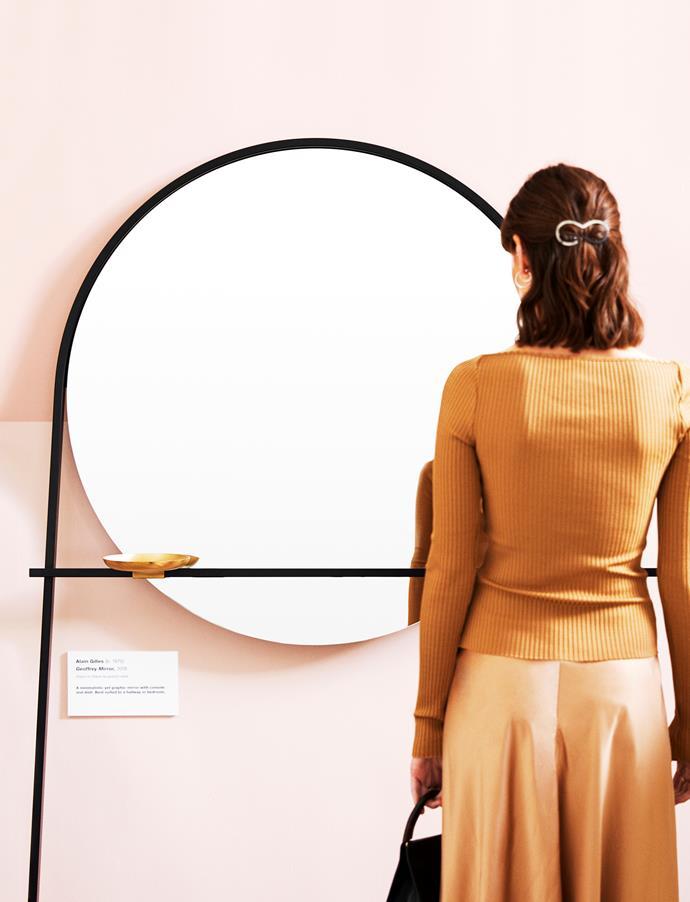 "Ligne Roset 'Geoffery' Mirror, $2225, [Domo](https://www.domo.com.au/product/ligne-roset-geoffrey/|target=""_blank""|rel=""nofollow"")."