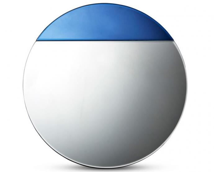 "Salt&Pepper round looking glass mirror (50cm), $119, [Domayne](https://www.domayne.com.au/salt-pepper-50x50cm-round-looking-glass-mirror.html|target=""_blank""
