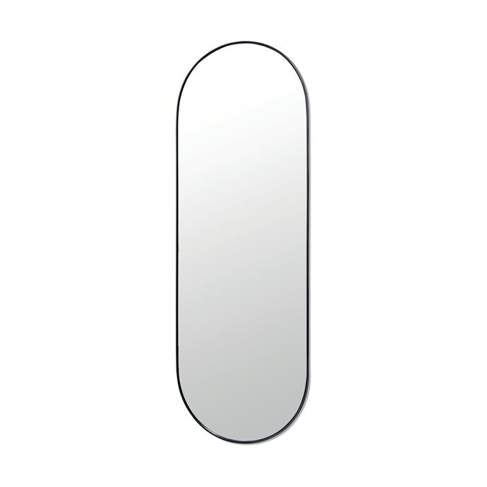 """Large Oval mirror, $39, [Kmart](https://www.kmart.com.au/product/large-oval-mirror/2334811