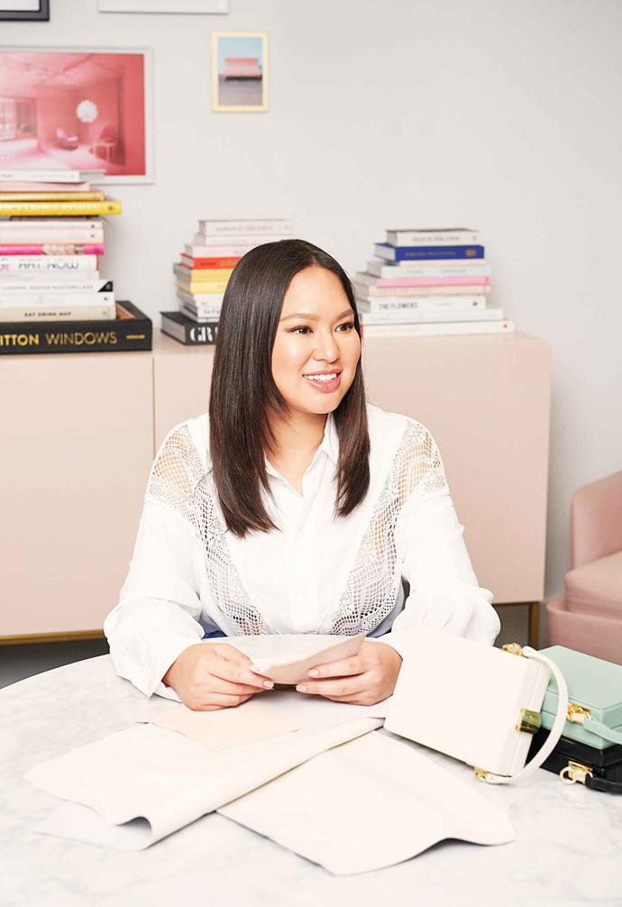"**Alyce Tran; The multi-tasking creative** <br><br>When Alyce Tran says, ""I'm a commercial creative and able to make creative things commercially viable,"" it's an understatement. The co-founder of accessories label The Daily Edited regularly pumps out It bags, such as personalised leather vertical clutch and accessories that appeal to the masses but keep their cool. She's also just launched a homewares company, In The Round House, retailing mildly priced, high-design pieces online. Alyce sits at the helm of a multimillion-dollar business but is still hands-on. Visual output, product design, marketing strategy, admin, store concept, customer service… the only thing she doesn't seem to do is sleep.<br><br>*[thedailyedited.com](https://www.thedailyedited.com/