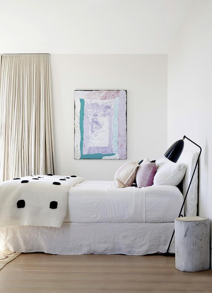 **Curtains:** Thick floor-length curtains create instant insulation and trap in the heat to keep your bedroom looking and feeling warm and homely all day long.
