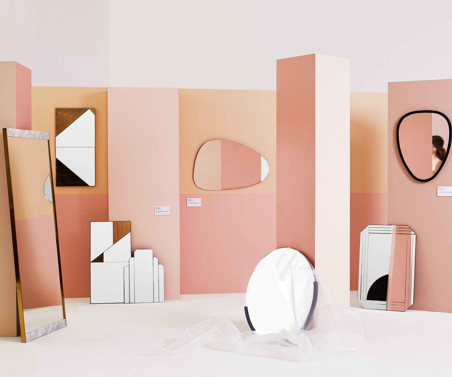 Wall and floor mirrors: unique designs that double as art   real living