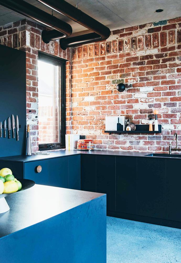 "**Raw material** <br><br>This [warehouse-style home in Perth](https://www.homestolove.com.au/brick-house-perth-19916|target=""_blank"") was created with repurposed bricks found across the neighbourhood which was previously a manufacturing hub. Throughout the home these red bricks add a traditional industrial aesthetic and are paired with a speckled polished [concrete floor](https://www.homestolove.com.au/concrete-floors-19778