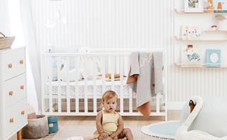 white nursery room