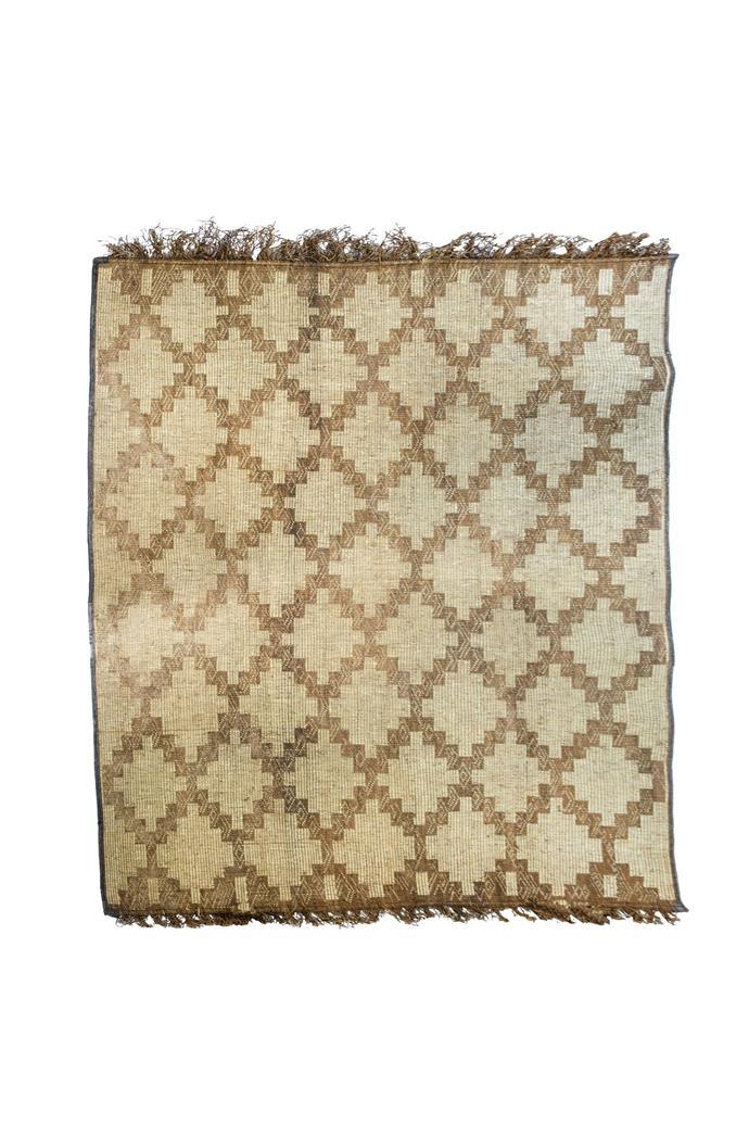 """'Fais Rien Tuareg' **rug**, $3200, from [Tigmi Trading](https://tigmitrading.com/products/fais-rien-tuareg target=""""_blank"""" rel=""""nofollow"""")."""