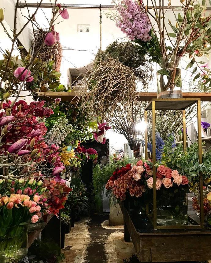 Inside Grandiflora Sydney.