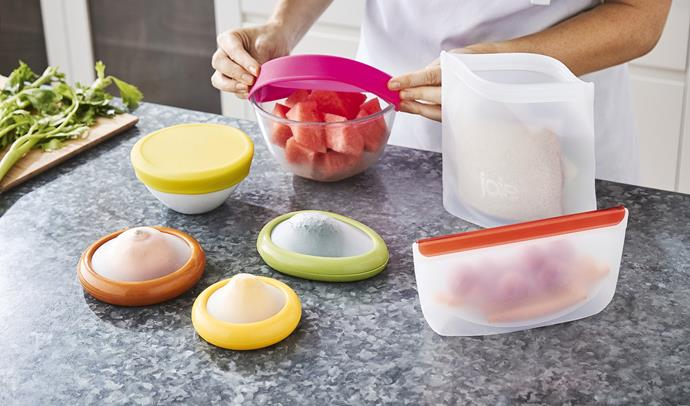 Reusable Silicone Kitchen Accessories & Stretch Lids, from $3.99