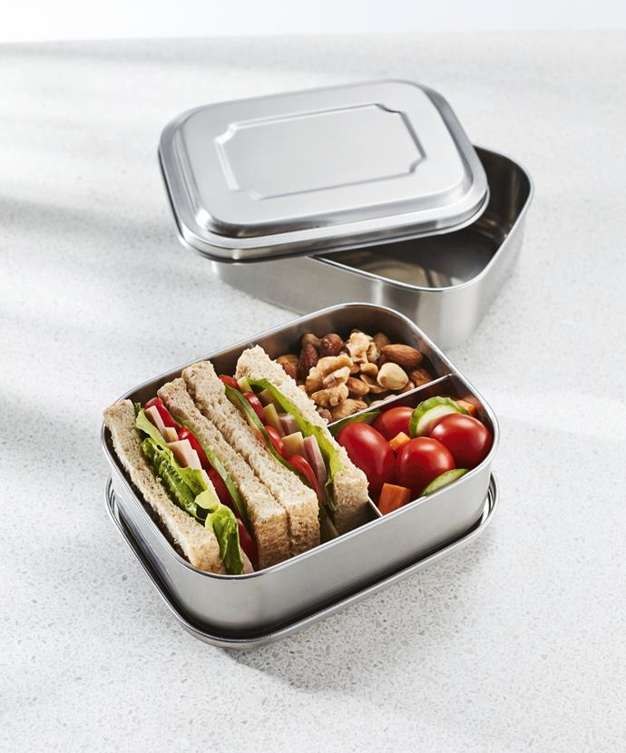 Stainless Steel Lunchbox, $7.99