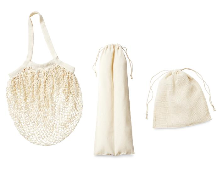 Organic Produce Bag Sets, $7.99