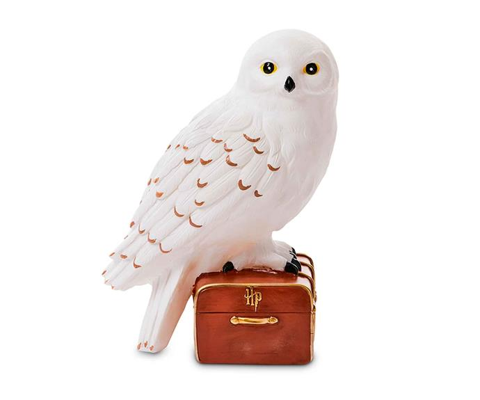 "Harry Potter collection Hedwig the Owl night light, $39.99, [Adairs Kids](https://www.adairs.com.au/|target=""_blank""