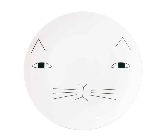 """'Mog' plate, £24, [Donna Wilson](https://www.donnawilson.com/ target=""""_blank"""" rel=""""nofollow"""")."""