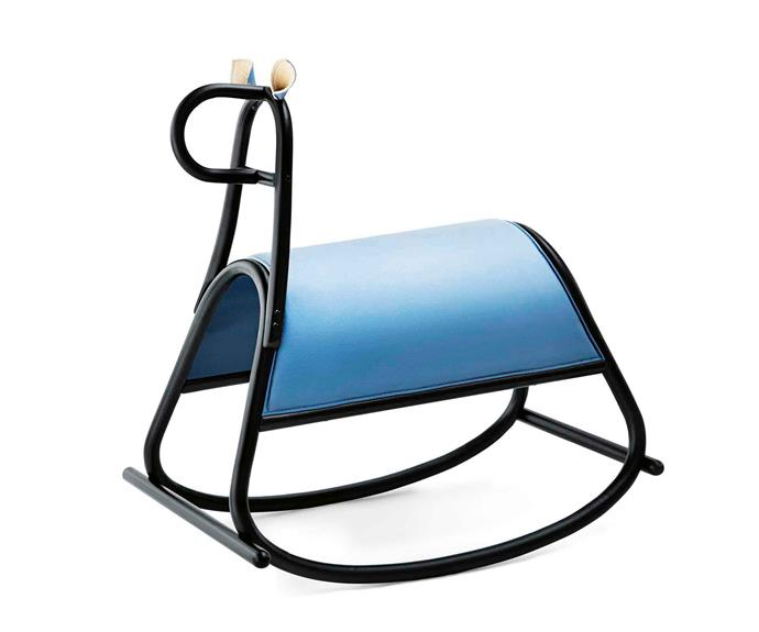 "Gebrüder Thonet Vienna 'Furia' rocking horse by Front, $2160, [Space Furniture](http://www.spacefurniture.com.au/|target=""_blank""