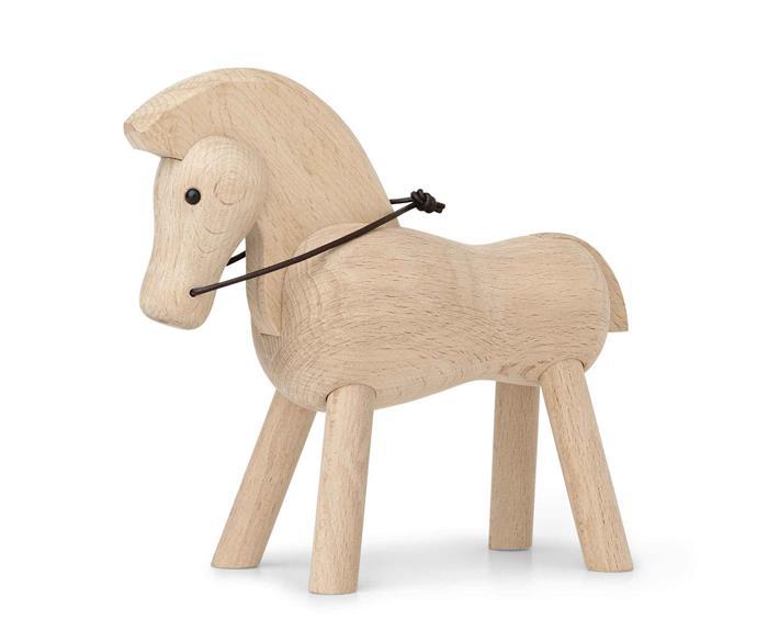 "Kay Bojesen 'Horse' toy, €79, [Connox](https://www.connox.com/ target=""_blank"" rel=""nofollow"")"