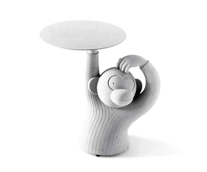 """BD Barcelona 'Monkey' side table, $1265, [AJAR Furniture & Design](http://ajar.com.au/ target=""""_blank"""" rel=""""nofollow"""")"""