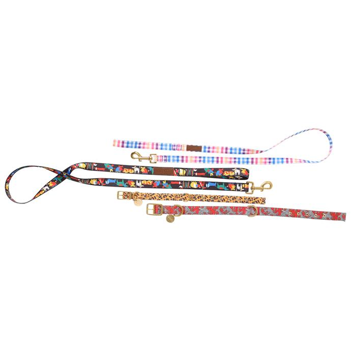 Leads and collars also come in two sizes: Small (27-37cm) and Large (37-47cm)