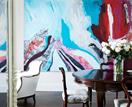 15 homes that feature beautiful art
