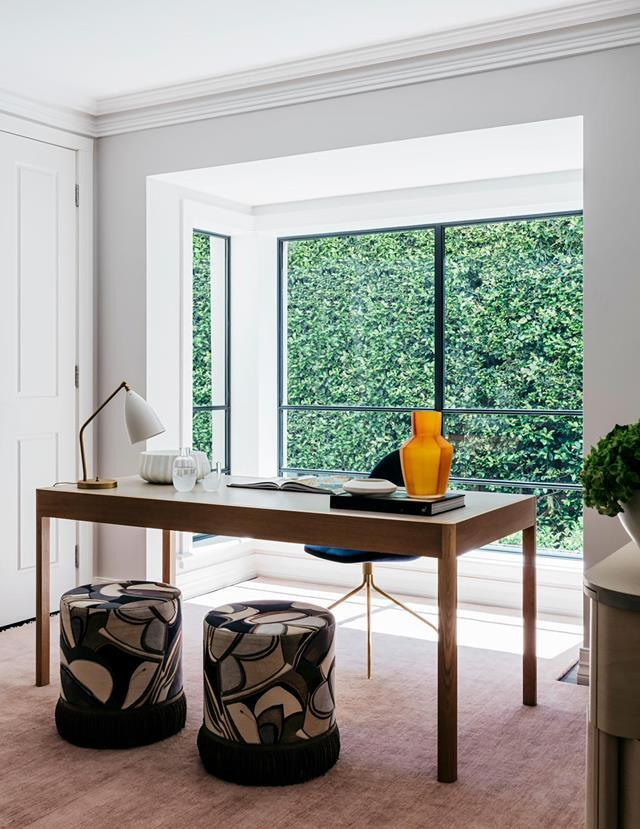 """This [ultra-chic office](https://www.homestolove.com.au/functional-and-elegant-home-by-arent-and-pyke-20352
