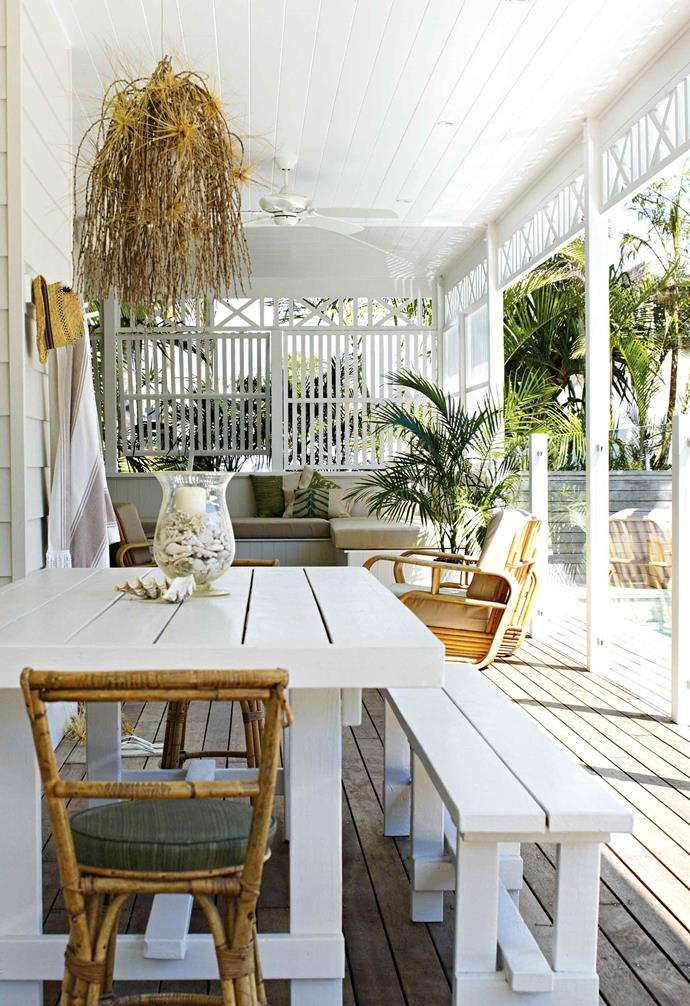 "The perfect project presented itself in the heart of Byron Bay – a tired old guesthouse development in need of imagination and energy. ""Finding a business we could attach a vision to gave me the confidence to stay,"" says Stephen.<br><br>**Outdoor entertaining** The [rattan chairs](https://www.homestolove.com.au/15-best-rattan-chairs-13693