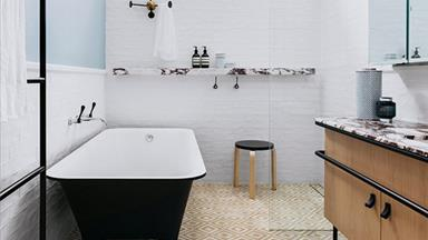 11 bold ideas for using patterned tiles in your bathroom