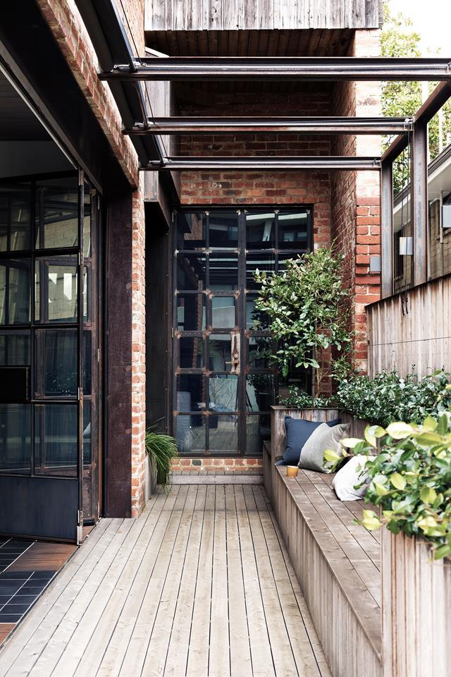 "In a line-up of Victorian properties near the sea in Melbourne, this [renovated home](https://www.homestolove.com.au/a-modern-industrial-apartment-kitchen-by-mim-design-4863|target=""_blank"") has been singled out with a special connection to the outdoors."