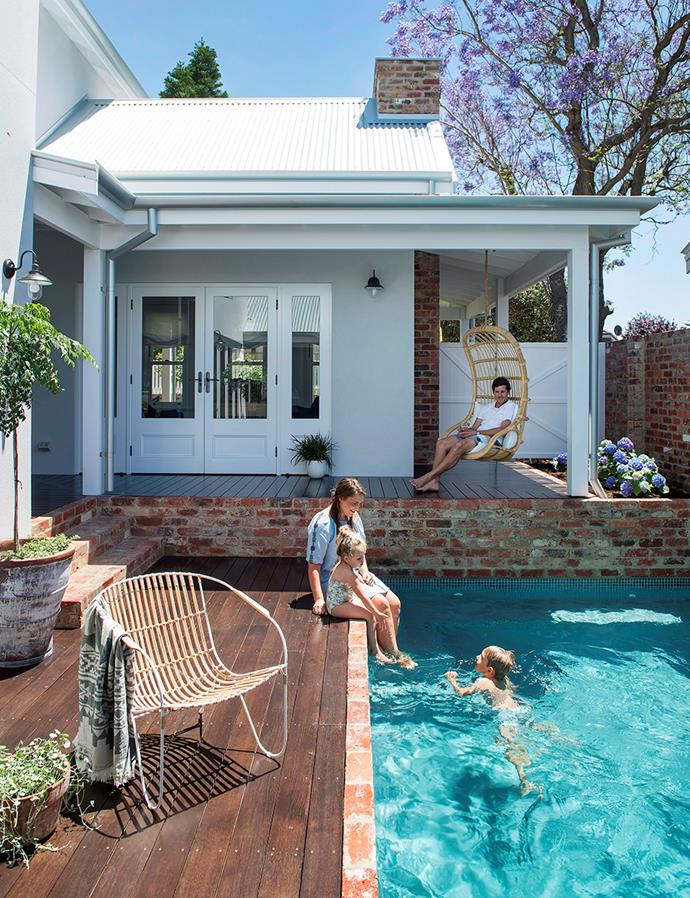 This beautiful coastal home is made complete with the additional of a concrete pool lined with a beautiful hardwood deck. *Image: Jody D'Arcy / bauersyndication.com.au*
