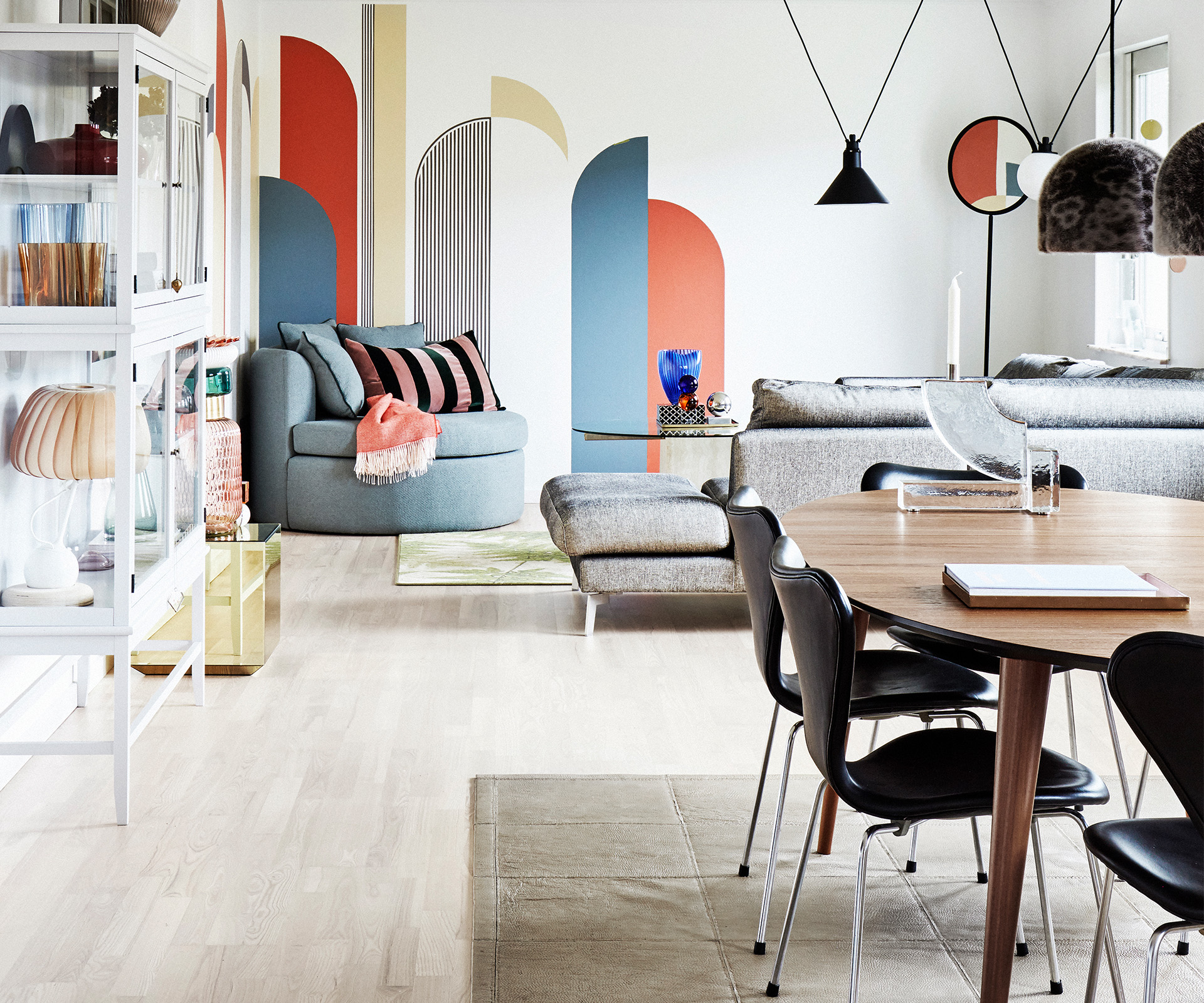A delightful Danish house with vintage Scandi style
