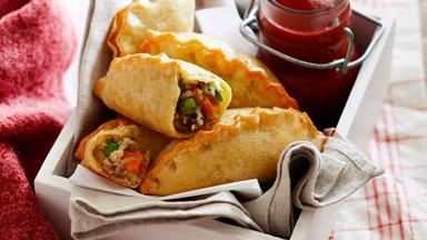 Mini vegie pasties: A delicious and healthy lunchbox recipe