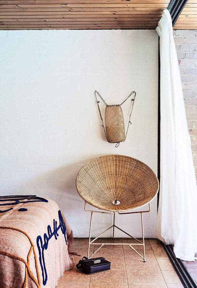 """**Statement chair -** The easiest way to experiment with woven furniture in your home without going overboard is with a [statement chair](https://www.homestolove.com.au/15-best-rattan-chairs-13693