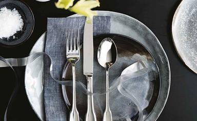 How to clean silver cutlery