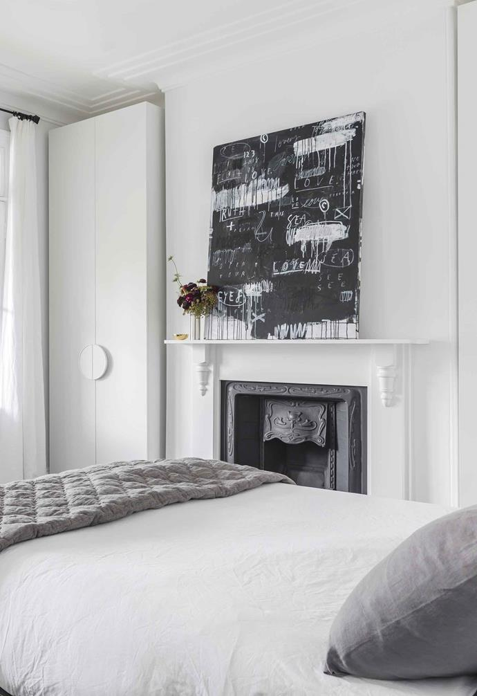 **Bright idea** In a Victorian home, retain decorative period elements such as the fireplace and cornices, but present them in a different way. Recontextualise with clean lines, a chic monochrome palette and minimalist styling.