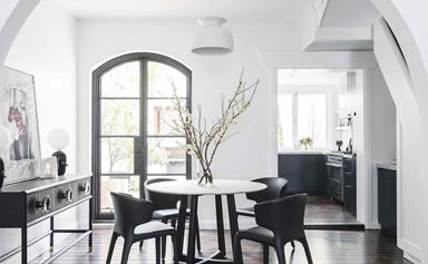 A classic Paddington terrace was given a contemporary monochrome renovation