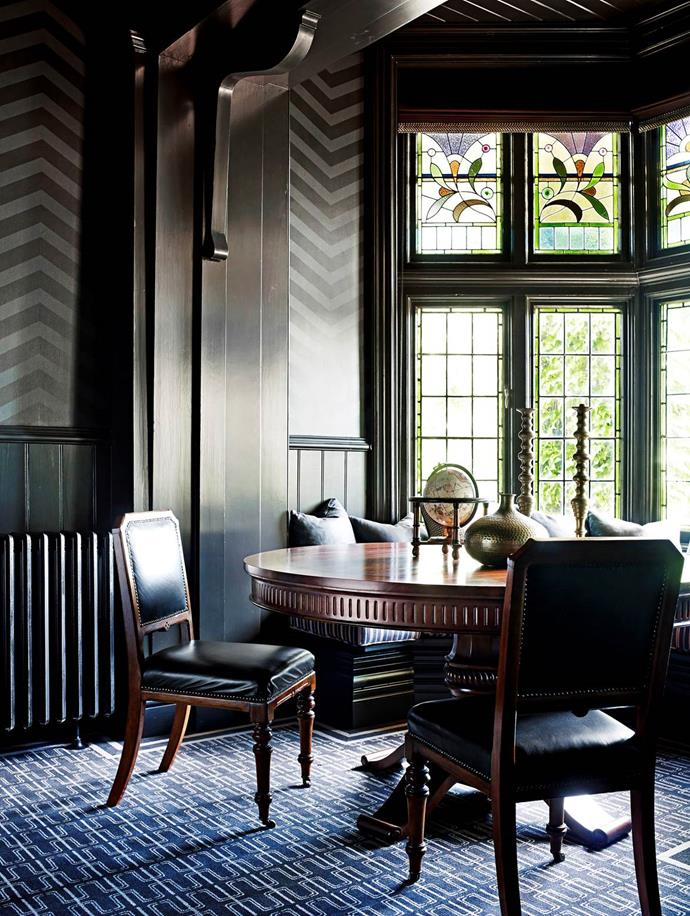 Interior designer Greg Natale has brought his city sensibility to this country property, balancing glamour and earthiness. From *Belle* August/September 2014.