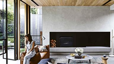 Timber and concrete have transformed this elegant Melbourne house